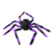 Tinksky Fake Spider Scary Spooky Spider Plush Toy Halloween Party Scary Decoration Haunted House Prop 75cm