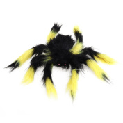 Tinksky Fake Spider Scary Spooky Spider Plush Toy Halloween Party Scary Decoration Haunted House Prop 30cm