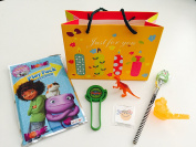 8x Pack Happy Birthday Goody Bags; Pre Made & Filled with Toys, Filled Goody Bag / Loot Bag