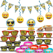 Emoji Party Decorations and Favours