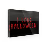 Fridge Magnet I Love Halloween Blood Halloween - NEONBLOND