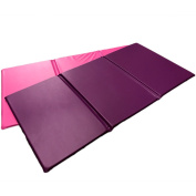 Triple Folding Nursery Sleep Mat in Purple / Pink for Children & Toddlers
