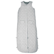 Noukies Mix & Match Jersey Sleeping Bag 110 cm grey