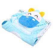 TRIEtree Baby Hooded Bath Towel Ultra-soft Fleece Cartoon Hooded Towels for Bath Pool Shower