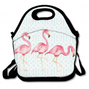 There Flamingo Travel Picnic Lunch Bag Lunchboxes Outdoor Lunch Box Bag Lunch Tote Handbag Convenience For Out