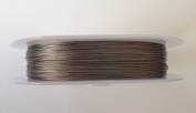 76 yards Antique Silver Beading Wire 0.3 mm Jewellery Necklace Bracelets Steel #8