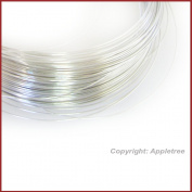 1.5m Solid Sterling Silver Wire 26ga Round - 26 gauge - Half Hard Made in USA