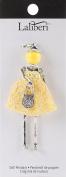 Laliberi Doll Pendant-Alexandra - Silver