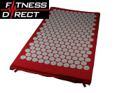 Acupressure Massage Yoga Shakti Nail Mat Stress Pain Relief Meditation Red