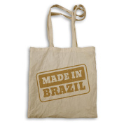 New Made In Brazil Stamp Tote bag m244r