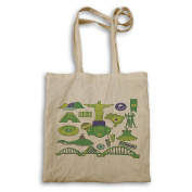 New Love About Brazil City Tote bag m485r