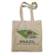 New Brazil Travel Discover Tote bag m421r