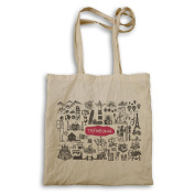 New Travel The World Art Tote bag m354r