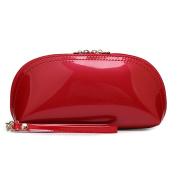 Exquisite Patent Leather Wristlet Phone Wristlet Wallet Clutch Handbag Wristlet /Wrist Strap / Card slots/ Cash pocket- Fit iPhone