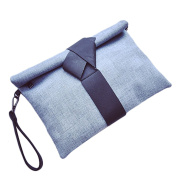 Ladies Oversized Clutch Bag Purse, Womens Large Textured Envelope Evening Wristlet Handbag with Strap