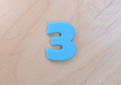 Joyous Number Three Cookie Cutter