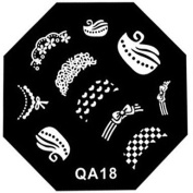 MZP Nail Art Stamp Stamping Image Template Plate