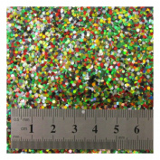 15g LARGE HOLOGRAPHIC GLITTER *4 SIZES *5 COLOURS * CRAFTS NAIL ART CARD MAKING (Mixed 0.2cm
