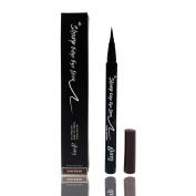 Glam21 Sharp Edge Eyeliner, Dark Brown, 0.02oz/0.55ml