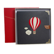 Scrapbook DIY Photo Album with box,Perfect as Wedding Guest Book/Anniversary Gift