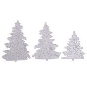 DIY Metal Cutting Dies Christmas Tree Stencils Scrapbooking Album Embossing Paper Craft