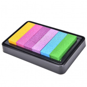 NEW Gradient Oil Based Ink pad Signet For Paper Wood Craft Rubber Stamp Colour Famille Rose