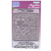 Sweet Dixie SDCSA6141 Festive A6 Clear Stamp Set Baubles In Frame