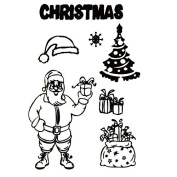 Christmas Gift/Present Design Clear Stamps for DIY Scrapbooking Decor Card Making Crafts Supplies