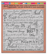 Stampendous Decor Cling Stamp Dream