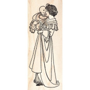 Mother & Baby Rubber Stamp