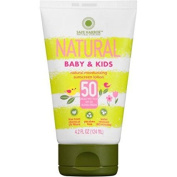 Safe Harbour Natural Baby & Kids Sunscreen Lotion, SPF 50, 120ml, one