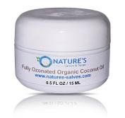 Fully Ozonated 100% Organic Cold Pressed Unrefined Coconut Oil 30ml
