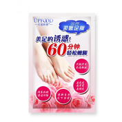 . Exfoliating Foot Peel Mask,Canserin 3 Pcs Hot Remove Dead Skin Foot Mask Peeling Cuticles Heel Feet Care Anti Ageing