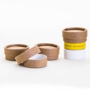 0.30 OZ / 10 mL Kraft Paperboard Lip Balm/Salve/Cosmetic/Lotion Jars x12