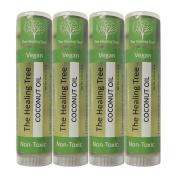 Coconut Oil Lip Balm | Vegan | Non-Toxic | 100% Natural