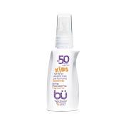 bu SPF 50 Kids Fragrance Free Sunscreen Spray, 30ml