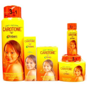 Carotone Light & Natural Brightening SET (5-PACK)Lotion, Cream, Tube, Oil, Soap