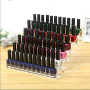 Gospire 66 Bottles of 6 Tier Acrylic Nail Polish Display Rack Stand Holder Jewellery Makeup Organiser