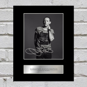 Chester Bennington Signed Mounted Photo Display Linkin Park