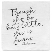 Inspirational Quote 100% Cotton Organic Baby Swaddle