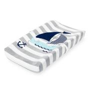 Koala Baby Essentials Plush Changing Pad Cover - Sailboat