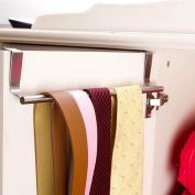 Towel Rack, Over Door Towel Rack Bar Hanging Holder Bathroom Kitchen Cabinet Shelf Rack ,Tuscom