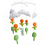 [Springtime Forest] Baby Developmental Crib Toy, Musical Dreams Crib Mobile
