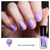 Peelable Nail Polish,Vanvler 6ml Water-based Peel Off Nail Enamel Lacquer Care Nail Art