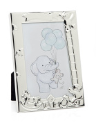 Philip Whitney 4x6 Picture Frame Silver Baby Ladder Frame