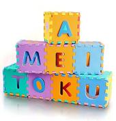 LemonGo Soft Foam Jigsaws Puzzlemats Alphabet & Numbers Jigsaws & Puzzles Play Mat, Letters & Numbers Set