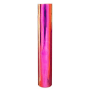 Holographic Glossy Permanent Vinyl - Opal Pink