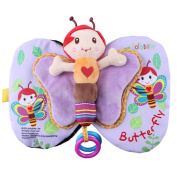 Baby Todder Butterfly Book, Efaster Education Cloth Book Baby Todder Early Development Book