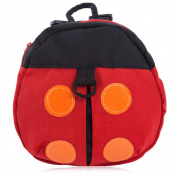 Cute Toddler Safety Harness Backpack Bag Anti-Lost Belt Strap Leash Ladybird Design Baby Keeper Walking Wings