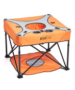 KidCo - GoPod, Portable Baby Activity Station - Tangerine